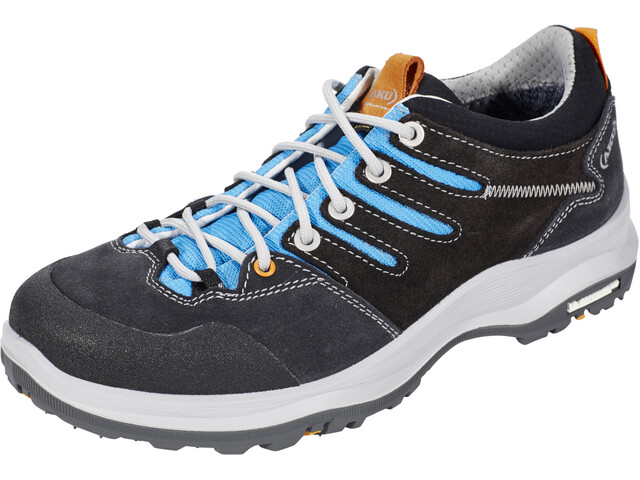 AKU Montera Low GTX Shoes Women dark grey/light blue